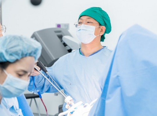 '하이브리드 단일공 로봇수술' 효율 높다