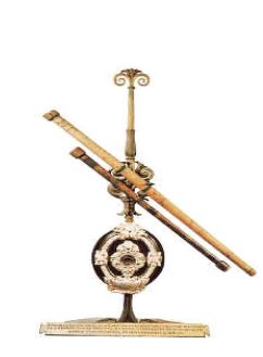 갈릴레이가 만든 망원경. 사이언스올