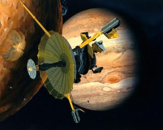 갈릴레오호의 목성탐사도. NASA 제공