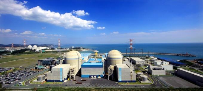 부산 기장에 신고리 원전 1,2호기의 모습이다. 원자력안전위원회 제공