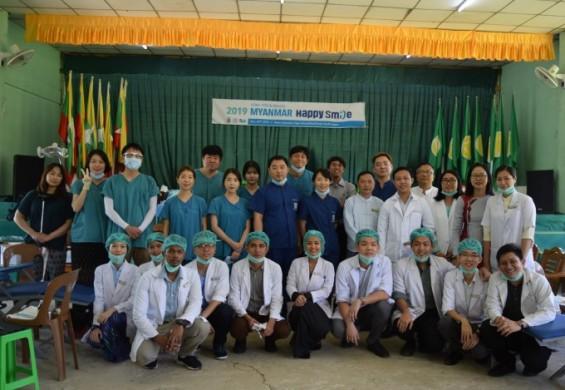 [의학게시판]서울대치과병원-두산, 미얀마 양곤 의료봉사