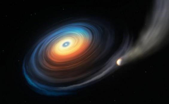 백색왜성을 도는 왜성 두배 크기 행성 최초 발견
