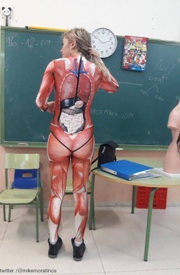 해부학을 가르치는 선생님