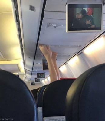 비행기 안에서 생긴 일