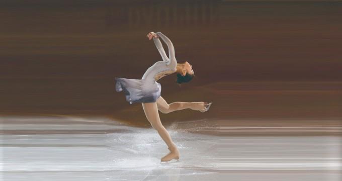 김연아 선수가 빙판 위를 가로지르며 멋진 연기를 펼칠 수 있는 건 얼음이 무척 미끄럽기 때문이다. 위키미디어