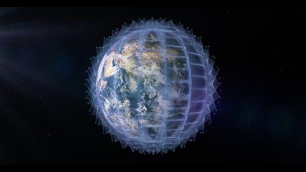 원웹에서는 천체 관측을 방해하지 않도록, 전파 등에 큰 영향을 미치지 않는 궤도인 약 1200km 상공에 인공위성을 쏴올릴 계획이다. 원웹 제공