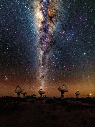 은하수/CSIRO/사이언스
