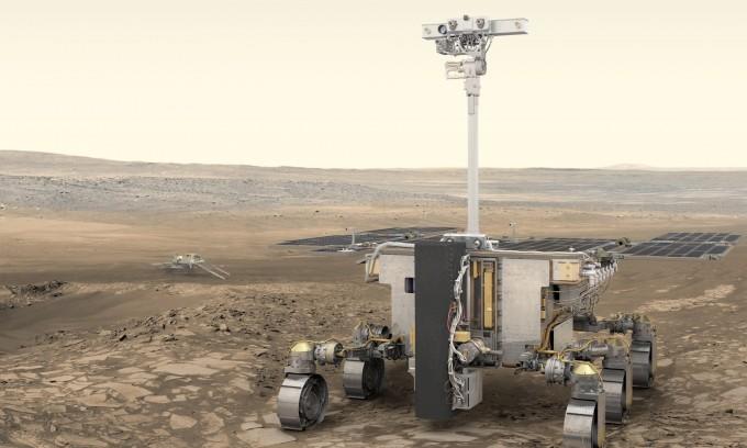 유럽우주국(ESA)과 러시아연방우주국(로스코스모스)의 화성탐사선 '엑소마스2020'이 내년 7월에서 8월경 발사를 앞두고 낙하산 테스트에 성공했다. ESA 제공