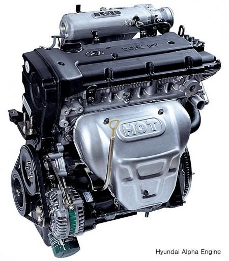 현대자동차가 처음 자체 개발한 소형차용 엔진인 알파엔진이다. 이 엔진을 개발하면서 차체만이 아닌 엔진 등 주요부품까지 국산화한 진정한 고유모델이 개발될 수 있었다. 현대자동차 제공