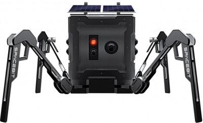 스페이스빗이 개발한 1.3kg 무게의 소형 거미형 탐사로봇. 달 표면의 음영 지역 중 용암굴을 탐사할 계획이다. 스페이스빗 제공