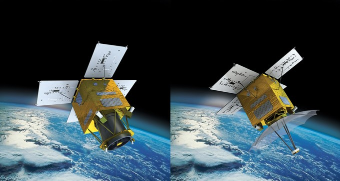 차세대중형위성의 상상도다. 한국항공우주연구원 제공