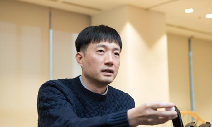 이상엽 원익로보틱스 개발팀장. 동아사이언스DB