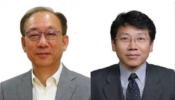 김명준 ETRI 원장(왼쪽)과 박천홍 한국기계연구원장 등 학계 및 산업계 전문가 45인이 2020년 한국공학한림원 신입 정회원에 선정됐다. 동아사이언스 자료사진