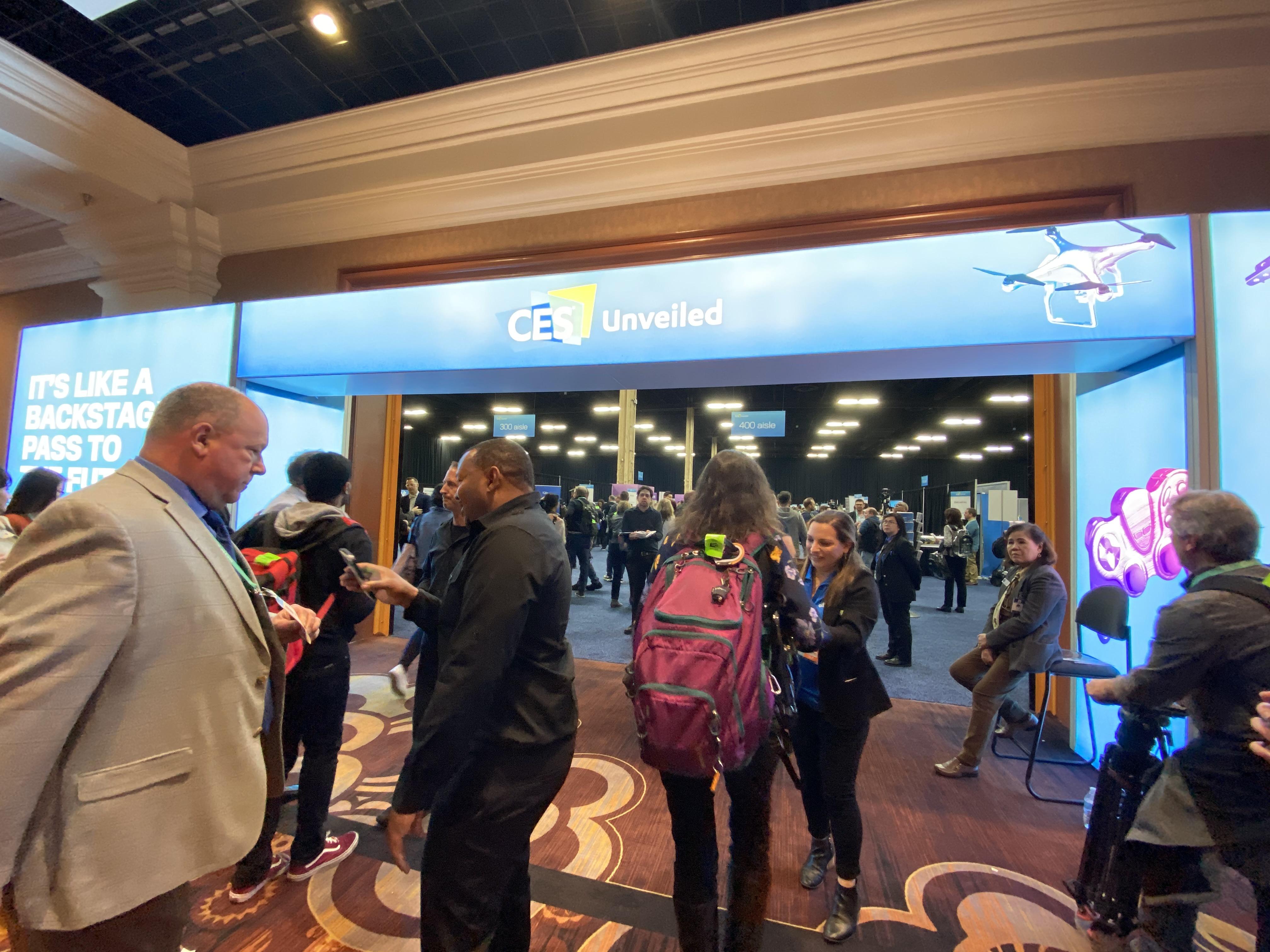 5일 미국 라스베이거스에서 열린 CES 2020 미디어데이 행사에서는 참가 제품들이 먼저 공개됐다. 올해 행사에는 160개국에서 17만 여 명이 참석해 문전성시를 이뤘다.