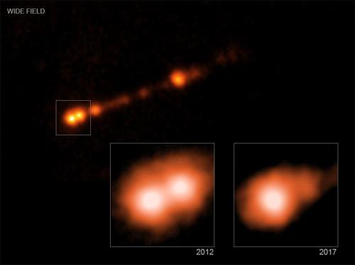 첫 관측 블랙홀서 빛 99% 속도 물질분출 확인