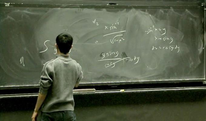 MIT 수학과 대학원들이 주최하는 ′적분대회′ 모습. MIT 2006 Integration Bee/Keith Winstein 유투브 캡쳐