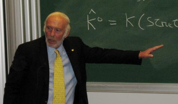 수학자 출신의 억만장자, 제임스 사이먼스. 위키피디아 제공
