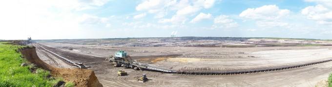 독일 작센주의 갈탄 탄광의 모습이다. 세계 1위의 갈탄 생산국이자 소비국인 독일이 16일(현지시간) 2038년까지 자국 내 갈탄 화력발전을 완전히 중단하겠다며 대책을 발표했다. 위키미디어 제공
