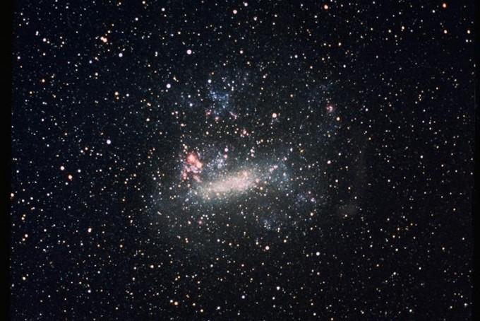 우리 은하의 위성 왜소은하인 대마젤란운의 모습이다. 위키피디아 제공