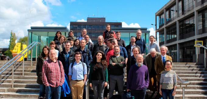 2019년 5월 아일랜드 골웨이국립대학교에서 열린 'Groups in Galway' 콘퍼런스 때 찍은 사진. 1978년부터 매년 같은 장소에서 열리는 유서 깊은 군론 학회이다. 자세히 보면 이승재 연구원의 얼굴도 찾을 수 있다. Group in Galway 2019