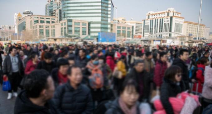 중국은 춘절을 맞아 민족 대이동이 예상된다. 이에 따른 우한폐렴의 대규모 확산이 우려되는 이유다. EPA/연합뉴스