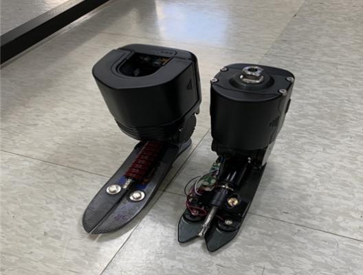 국가유공자들과 함께 개발한 로봇의족  5일 보훈병원서 첫 공개