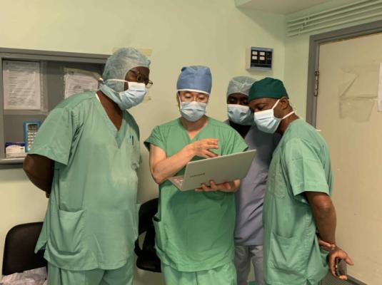 [의학게시판] 이종욱글로벌의학센터, 코트디부아르 소아 심장수술 교육 外