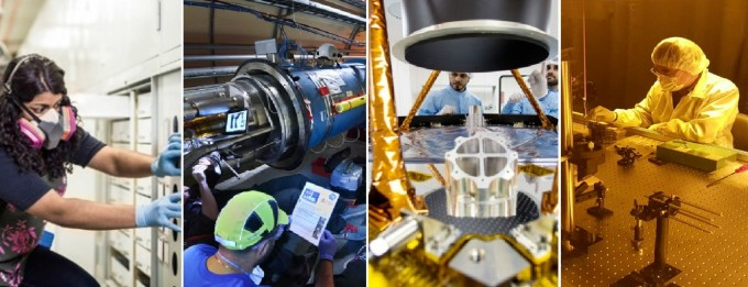 각 분야의 과학자와 엔지니어의 모습이다. 동아사이언스DB