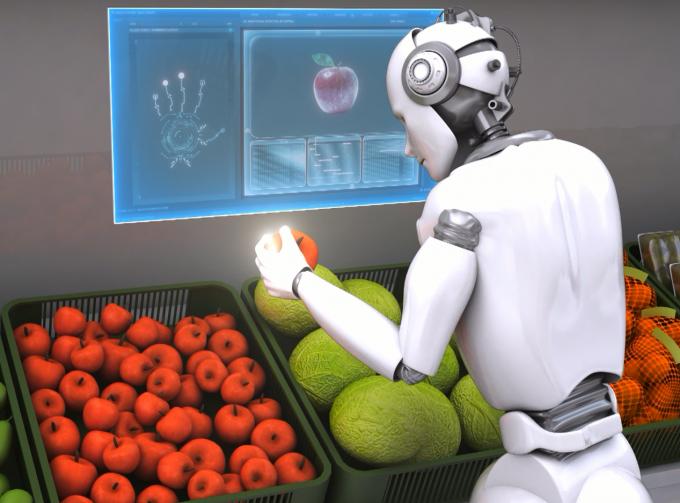 압력 센서는 로봇에게 촉감을 부여하는 등 다양한 곳에 활용될 것으로 보인다. ETRI 제공