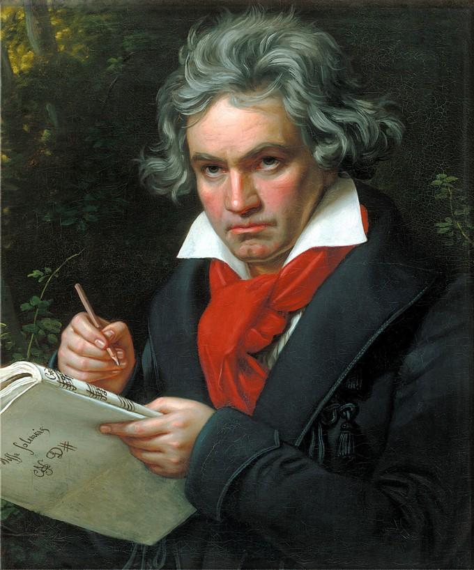 루트비히 판 베토벤(1770~1827). 위키미디어 제공