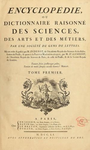 백과전서의 표지. 위키피디아 제공
