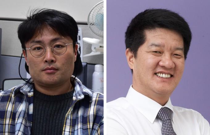 이철원 대우조선해양 책임연구원(왼쪽)과 박성규 서진에너지 연구소장이 대한민국 엔지니어상 올해 2월 수상자로 선정됐다. 과학기술정보통신부 제공