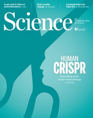 [표지로 읽는 과학] 크리스퍼 유전자 교정, 암 정복 위한 '가위손'될까
