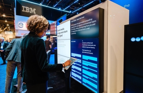 IBM, 인간과 토론하는 AI 기술 상용화…