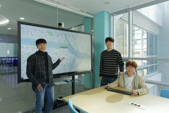 UNIST재학생, 지역 '코로나19 정보' 지도 웹사이트 공개