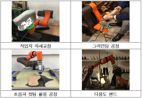 서울시, 성수동 수제화 공방에 '협동로봇' 보급…제작 보조