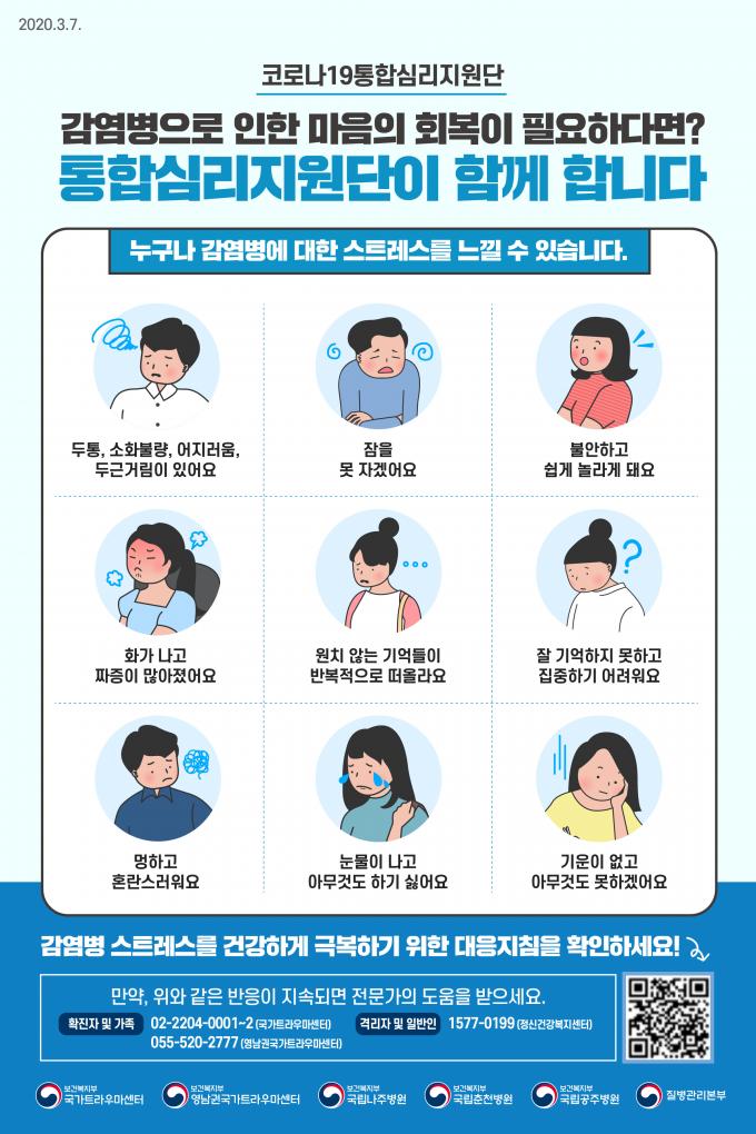 [인포그래픽] 코로나19 '일반인' 스트레스 대처방법