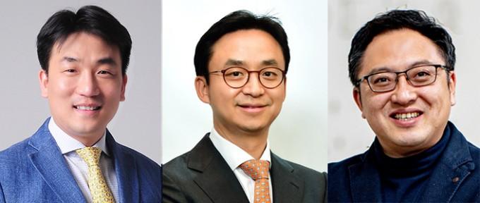 (왼쪽부터) 정창욱∙최의근 서울대병원 교수와 박성민 포스텍 창의IT융합공학과 교수. 환자의 혈관과 신경의 분포에 무관하게 모든 신경을 차단할 수 있는 복강경 수술 장비와 수술 기법을 개발했다. 서울대병원 제공