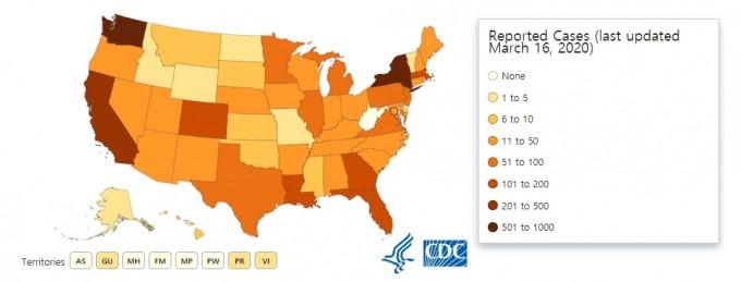 자료 : 미국 질병통제예방센터(CDC)