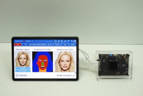 사진 이미지 자유자재로 바꾸는 AI 반도체 칩 나왔다