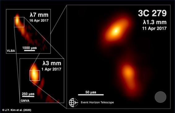 블랙홀이 내뿜는 '제트' 가장 상세한 모습 드러냈다