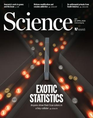 [표지로 읽는 과학] 2차원 공간에서 기본입자 매개하는 입자의 움직임