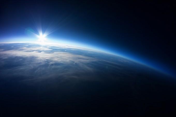 성층권에서 바라본 지구. 더쎄를라잇브루잉 제공.