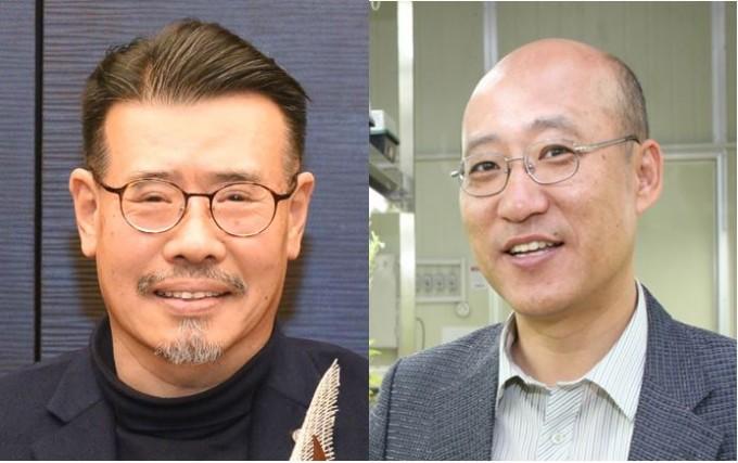 방명걸(왼쪽) 중앙대 생명자원공학부 교수와 윤대진(오른쪽) 건국대 의생명공학과 교수가 '제4회 카길한림생명과학상' 수상자로 선정됐다. 한국과학기술한림원 제공