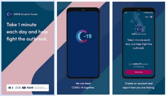 코로나19 증상 추적 앱, 감염병 발생 찾아내는 능력 확인됐다