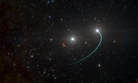 가장 가까운 블랙홀 '쌍성계' 숨어 있었네