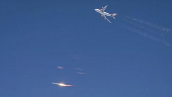 가능성 확인한 버진 오비트의 공중 로켓 발사