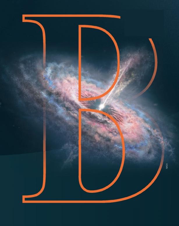 은하 중심에서 주변 물질을 흡수하는 블랙홀과 퀘이사를 나타낸 상상도. NASA 제공
