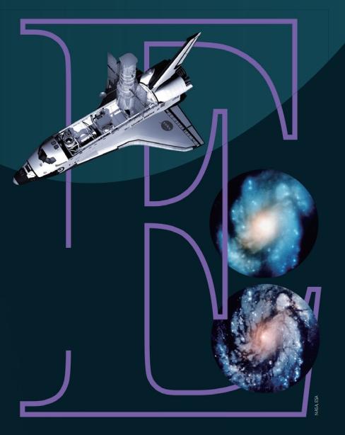 허블우주망원경의 첫 관측 이미지는 초점이 맞지 않아 논란이 됐다(오른쪽 위). NASA는 총 다섯 차례 우주왕복선을 띄워 허블우주망원경을 수리했다. 오른쪽 아래는 수리한 후 같은 구역을 촬영한 사진이다. NASA/ESA 제공
