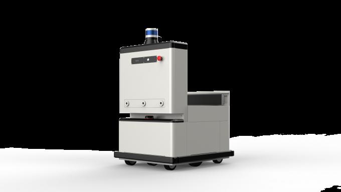 우편물 배달로봇은 이용자에게 물건을 배달하는 데 활용될 전망이다. 우정사업본부 제공